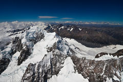 Alpi della Nuova Zelanda Fotografia Stock