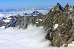 Alpi della pennina Immagini Stock