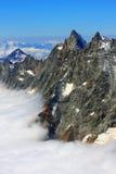 Alpi della pennina Immagini Stock Libere da Diritti