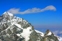 Alpi della pennina Immagine Stock Libera da Diritti
