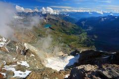 Alpi della pennina Fotografie Stock Libere da Diritti