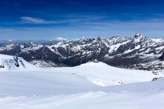 Alpi della pennina, Svizzera Fotografia Stock Libera da Diritti