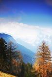 Alpi della primavera Immagini Stock Libere da Diritti
