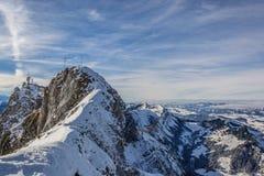 Alpi della Svizzera Fotografia Stock