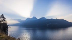 Alpi della Svizzera centrale Fotografie Stock Libere da Diritti