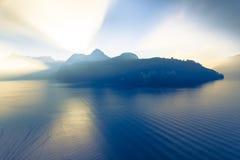Alpi della Svizzera centrale Fotografia Stock
