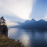 Alpi della Svizzera centrale Fotografia Stock Libera da Diritti