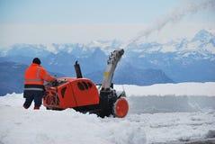 Alpi della Svizzera, vista da Pilatus superiore Fotografia Stock Libera da Diritti