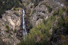 Alpi delle cascate Immagini Stock