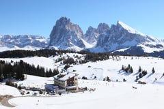 Alpi delle dolomia Fotografia Stock