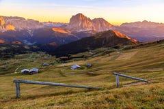 Alpi delle dolomia di estate Fotografia Stock Libera da Diritti