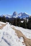 Alpi delle dolomia, eredità naturale dell'Unesco Fotografia Stock