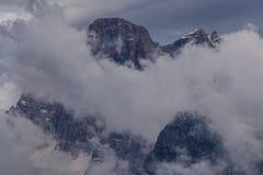 Alpi delle dolomia, Italia Fotografia Stock