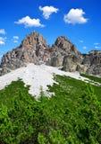 Alpi delle dolomia - Italia Fotografie Stock Libere da Diritti