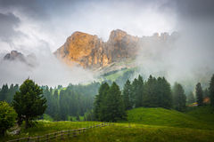 Alpi delle dolomia L'Italia Immagine Stock Libera da Diritti