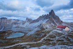 Alpi delle dolomia L'Italia, Fotografie Stock Libere da Diritti