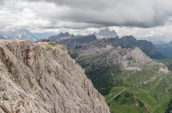 Alpi delle dolomia, montagna, estate, Italia Immagini Stock Libere da Diritti