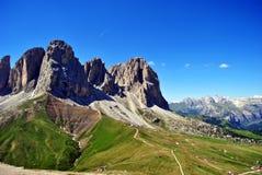 Alpi delle montagne Immagini Stock