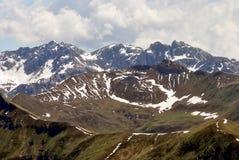 Alpi delle montagne Fotografie Stock