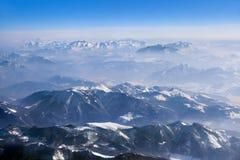 Alpi delle montagne all'Austria Fotografie Stock