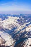 Alpi delle montagne all'Austria Fotografie Stock Libere da Diritti