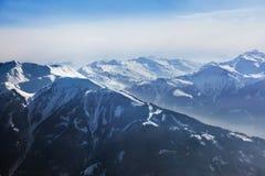Alpi delle montagne all'Austria Fotografia Stock