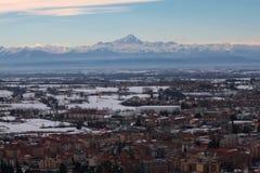 Alpi delle montagne del paesaggio Immagine Stock Libera da Diritti