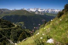 Alpi delle Wallis Fotografia Stock Libera da Diritti