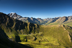 Alpi delle Wallis Fotografia Stock