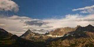 Alpi delle Wallis Immagine Stock Libera da Diritti