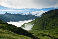 Alpi delle Wallis Immagini Stock Libere da Diritti