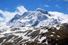 Alpi dello Breithorn-Svizzero Fotografie Stock Libere da Diritti