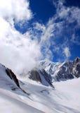 Alpi dello Snowy Fotografia Stock Libera da Diritti