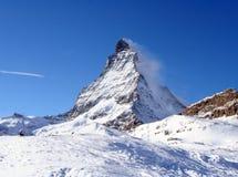 Alpi dello svizzero del Matterhorn Fotografia Stock Libera da Diritti
