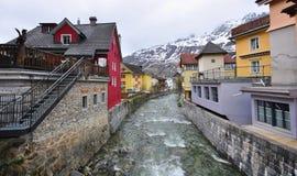 Alpi dello svizzero di Andermatt Immagine Stock Libera da Diritti