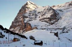 ALPI dello svizzero di Eiger- immagini stock