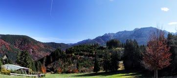 Alpi di Ammergauer Immagine Stock