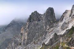 Alpi di Apuan Fotografia Stock