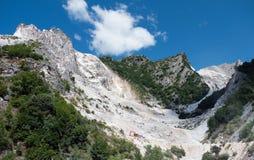 Alpi di Apuane - Italia Fotografie Stock Libere da Diritti