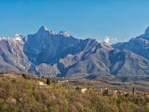 Alpi di Apuane, Italia Immagine Stock Libera da Diritti