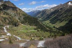Alpi di Autrian Fotografia Stock