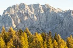 Alpi di autunno i Fotografia Stock Libera da Diritti
