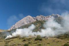 Alpi di Bararian Fotografia Stock