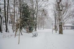 Alpi di Baviera di tegernsee di inverno Fotografia Stock Libera da Diritti