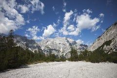 Alpi di Berchtesgaden Fotografie Stock Libere da Diritti