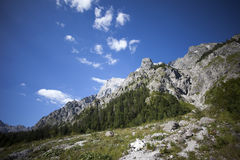 Alpi di Berchtesgaden Fotografie Stock