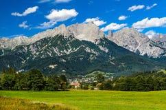 Alpi di Berchtesgaden, Austria Fotografia Stock Libera da Diritti