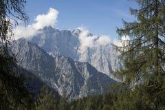 Alpi di Berchtesgaden con Watzmann Fotografie Stock