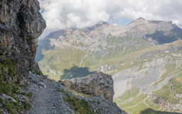 Alpi di Bernese Immagini Stock