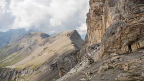 Alpi di Bernese Immagini Stock Libere da Diritti